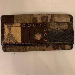 Vintage Coach Wallet *Retired 1941 Brand*